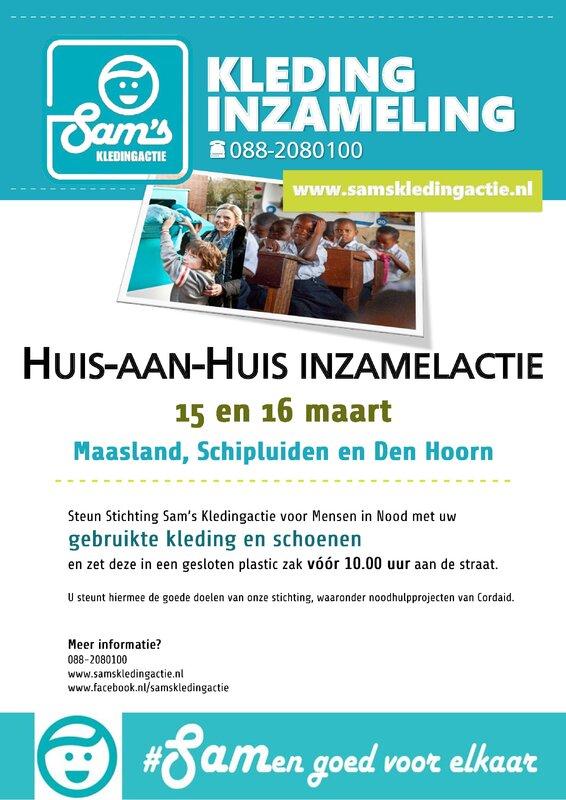 Huis-aan-huisactie in Midden Delfland