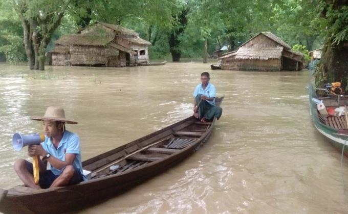 Hulp bij wederopbouw na cycloon Komen